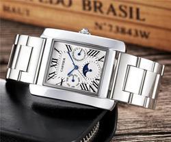 Новые роскошные брендовые механические наручные часы для мужчин и женщин, кварцевые часы с ремешком из нержавеющей стали relojes hombre, автомати...