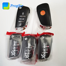 Xhorse mando a distancia Universal VVDI XKDS00EN, 3 botones, para Audi DS