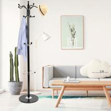 2020 nuevo estante de abrigo Vintage sencillo montado sala de estar sombrero ropa soporte de exhibición Multi ganchos colgar ropa muebles para el hogar