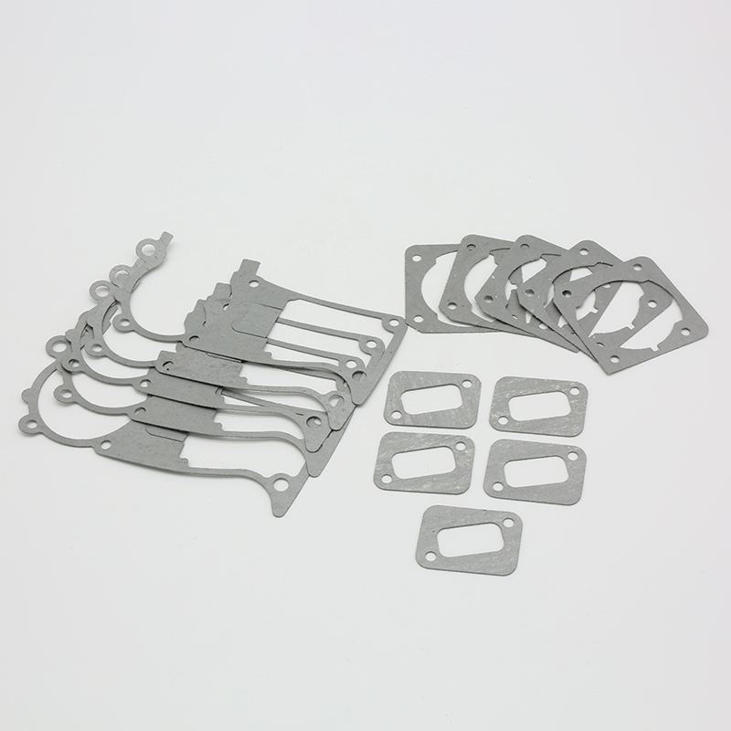 HUNDURE 5Pcs Crankcase Cylinder Muffler Gasket Kit For HUSQVARNA 353 350 340 345 346 XP Gas Chainsaw Spare Parts