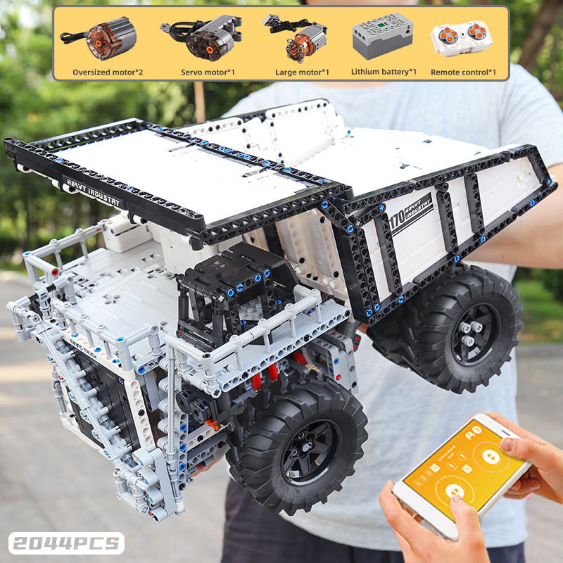 MOULD KING 13170 The MOC 29973 Mining Truck T284 Car