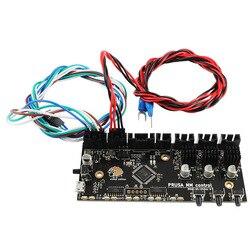12/24V Prusa i3 MK3 wielu żarnik 2.0 płyta główna aktualizacji MM płyta sterowania TMC2130 sterownik MMU2 kabel zasilający dla 3d części drukarki