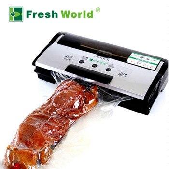 La mejor máquina selladora al vacío, automática, eléctrica, inflable, comercial, para el hogar, para alimentos, envasado al vacío, aparato de cocina sellado