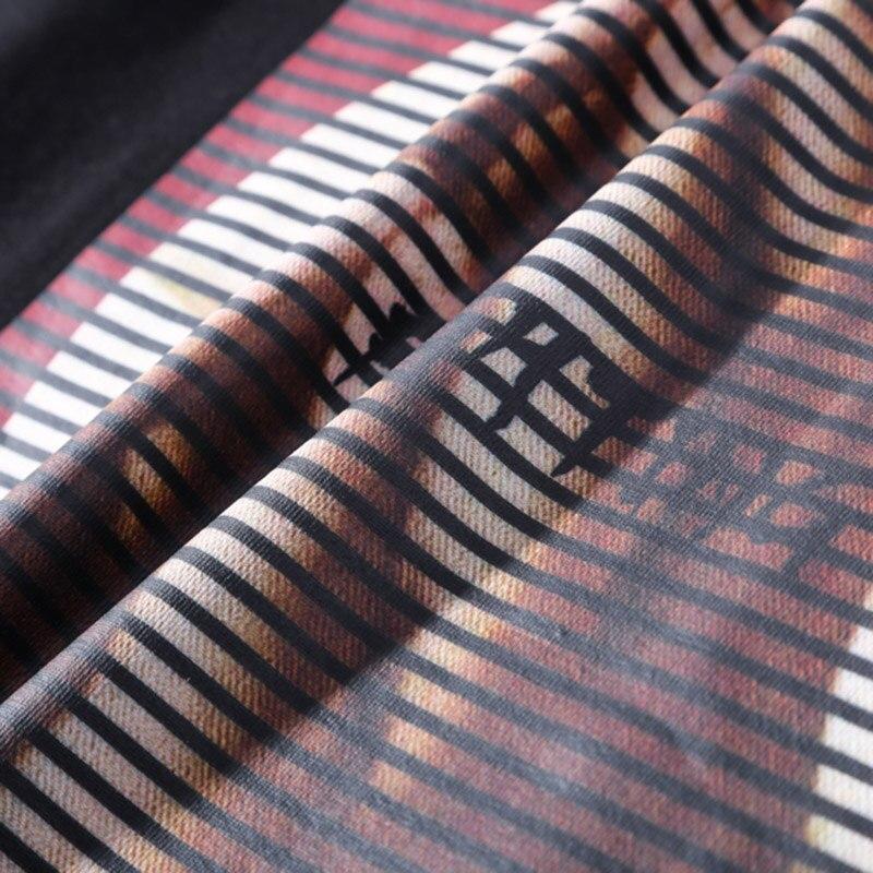 Image 4 - Мужская футболка в стиле хип хоп, хлопковая футболка с коротким рукавом и винтажным принтом, 2019Футболки   -