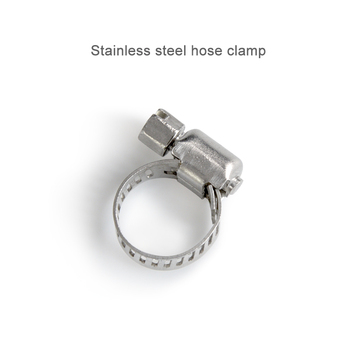 New 8~12mm/13~19mm Spring Band Type Fuel Vacuum Hose Silicone Pipe Tube Clamp Clip Steel Zinc Plated Clamps image