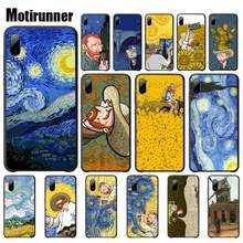 Motirunner Van Gogh Starry Sky Art DIY Mobile Case For Xiaomi Mi 5 6 6x 8 Se Lite Mix 2 2s 3 Telephone Accessories(China)