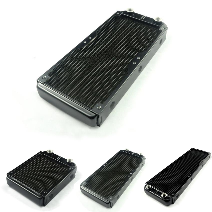 Алюминиевый радиатор водяного охлаждения WinKool 120 мм 240 мм 360 мм, теплообменник для вентилятора 12 см