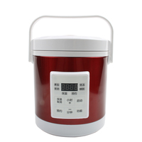 DMWD 1.6L Mini Electric Rice Cooker 12V 24V For Car And Truck Travel Portable Soup Pot Cooking Pot 12H Appointment