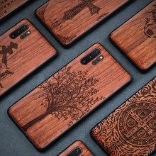 Funda de madera para Samsung Galaxy Note 10 Plus 9 8 S9 S10 Plus 100% funda de madera Natural TPU para Samsung Galaxy S9 S10