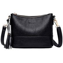여자의 어깨 가방 높은 품질 PU 간단한 솔리드 컬러 레이디 메신저 가방 야생 술 엄마 크로스 바디 가방 여성 블랙 레드 블루