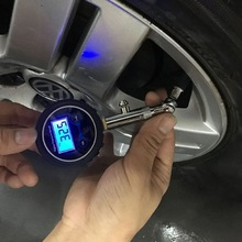 Tire-Pressure-Gauge Tyre Motorbike Digital Vehicle-Tester 0-200PSI Car LCD for Bicycle