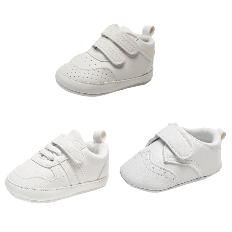 Toddlers Shoes Winter Children Baby Boys Shoes White Fashion Toddler First Walkers Kids Pu Leather Shoes