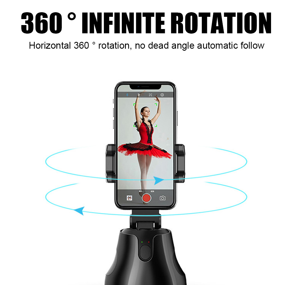 Auto Tracking Smart Shooting Holder 360degree Rotation Cell Phone Holder For Video Reocording LHB99