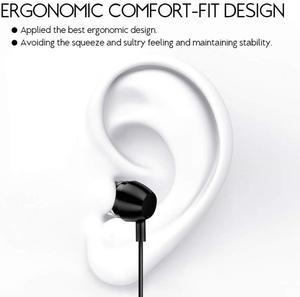 Image 5 - Senhomtog kulaklık 3.5mm kulak klasik derin bas kulaklık mikrofon için geçerlidir MP3 psp Laptop Samsung akıllı telefon