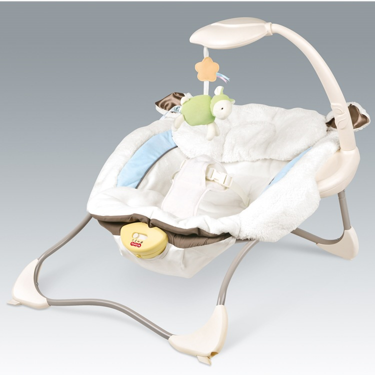 Baby music electric rocking chair baby vibration comfort sleeping rocking chair cradle bed toy