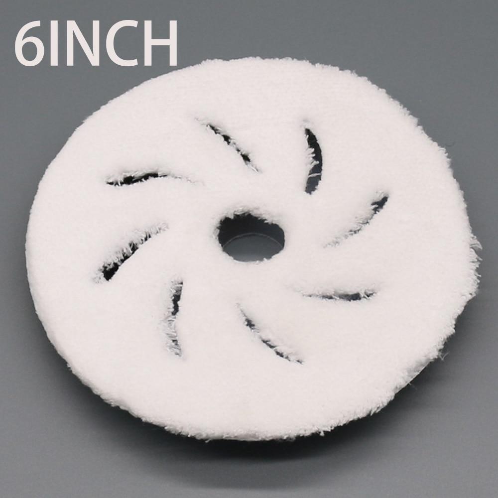 6Inch Microfiber Polishing Buffing Pads Polishing Felt Wheel For Car Polisher 100% Brand New And High Quality