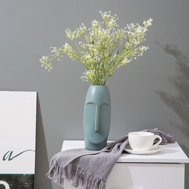 European-style Vase Home Decoration Plastic Vase Wedding Hydroponic Plant Decoration Is Not Easy To Break Modern Art Decoration 4
