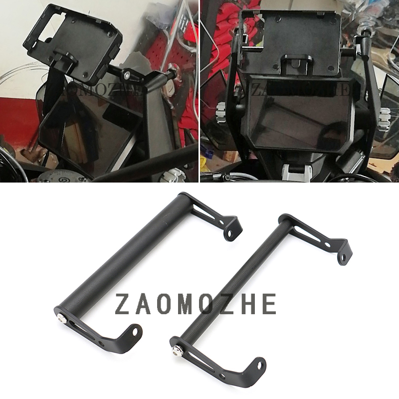 Motorcycle GPS Smart Phone Navigation Mount Mounting Bracket Adapter For <font><b>KTM</b></font> <font><b>1290</b></font> <font><b>Super</b></font> <font><b>Adventure</b></font> <font><b>S</b></font> R 2017 2018 <font><b>2019</b></font> image