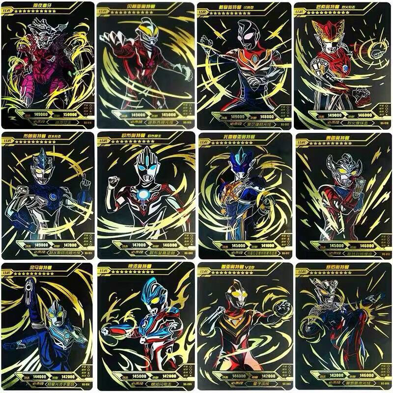32pcs Altman Card The First Black Gold Card The Second Black Silver Card The Whole Set Of Children's War Collection Toys Battle