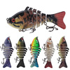 10cm Sinking Wobblers Fishing Lures Jointed Wobbler Rotating Trolling pike carp crank lure For Bass Isca Crankbait for dropshipp