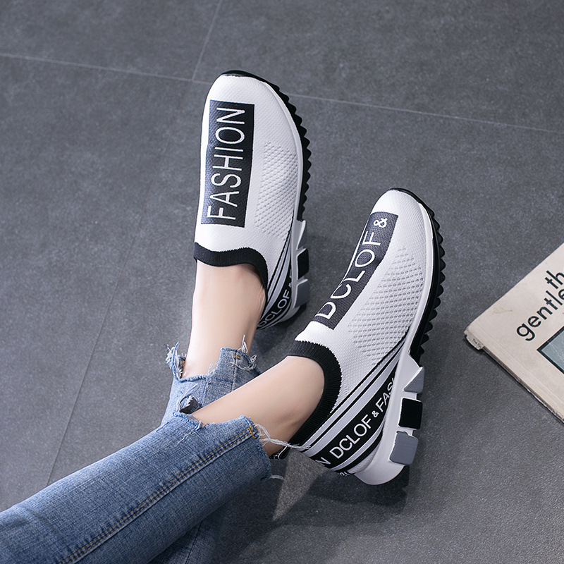 American Fashion Large Size Ports Shoes Lovers Same Running Breathable Soft Comfortable Women 2019 Student Sneakers Wholesale