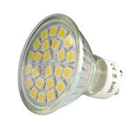 1 x Ceramic GU1 6W 6 SMD33 LED Spot Light Bulbs Warm White/Day White