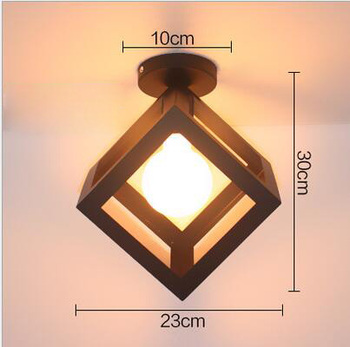 4/6/8 Heads Multiple Rod Wrought Iron Ceiling Light Retro Industrial Loft Nordic Dome Lamp for Home Decor Dinning Cafe Bar 7