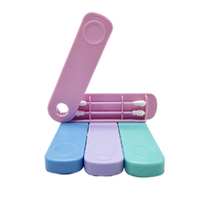 Cotton Swabs Makeup-Swabs-Sticks Buds Ear-Cleaning Silicone Double-Headed Reusable Soft