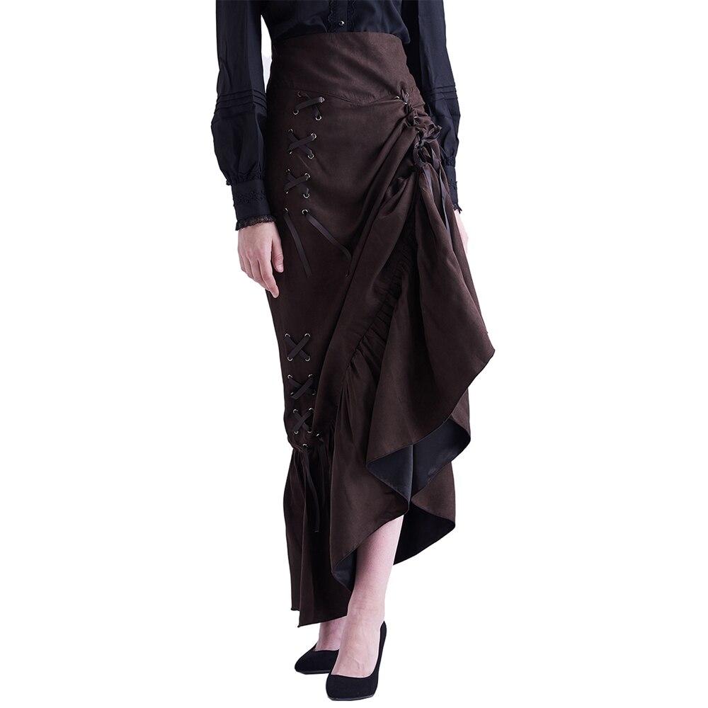 Viktorianische Stiefel für Damen schwarz oder braun
