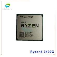 AMD Ryzen 5 3400G R5 3400G 3,7 ГГц четырехъядерный восьмипоточный процессор 65 Вт YD3400C5M4MFH разъем AM4