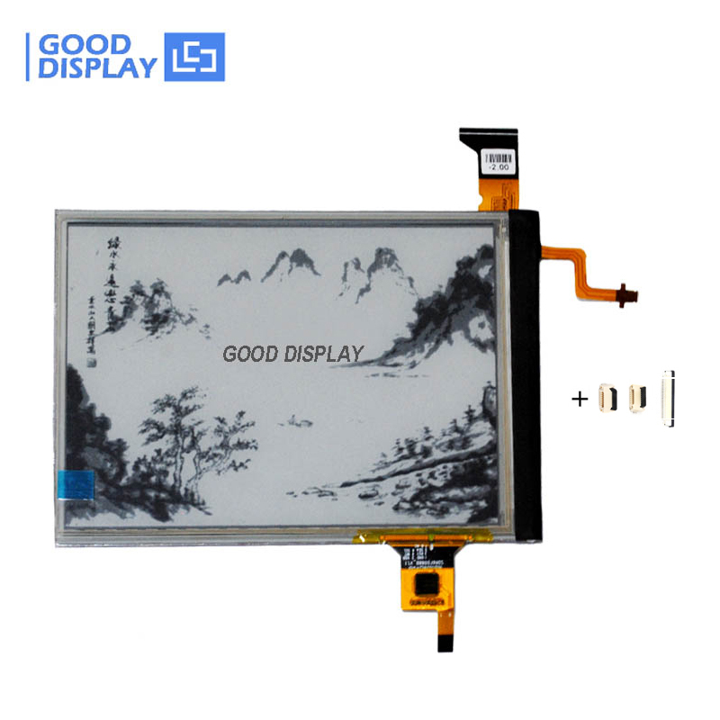 6 Inch 600X800 E-paper Display With Touchscreen And Front Light Eink Panel