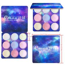 9-Color Eye Shadow Palette Pearlescent Matte Makeup Waterproof Sweat-proof Eyeshadow Cosmetic