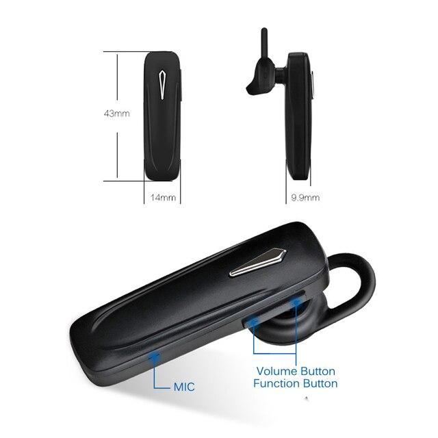 Écouteurs Bluetooth Mini casque sans fil écouteurs mains libres Bluetooth écouteur avec micro pour iphone xr xiaomi redmi casque