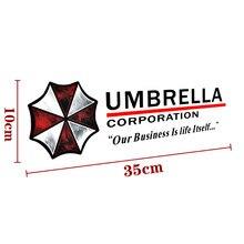 Acessórios engraçados guarda-chuva corporation sobrancelha luzes reflexivas etiqueta do carro decalque para audi a3 honda hyundai kia 2 bmw e90