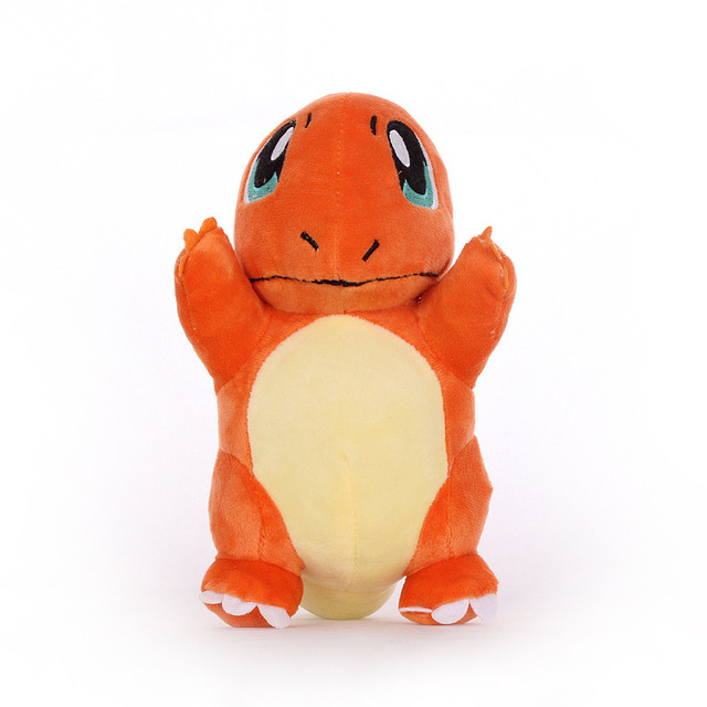 1pcs 21cm Charmander Plush Toys Doll Cute Animals Charmander Soft Stuffed Peluches Toys Gifts for Kids Childrens
