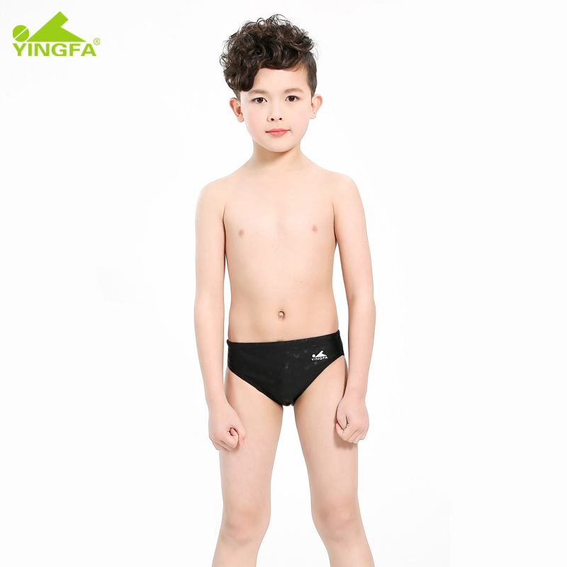 Industry CHILDREN'S Swimming Trunks Boy Swimming Trunks Teenager Students Triangular BOY'S Swimsuit Game Training