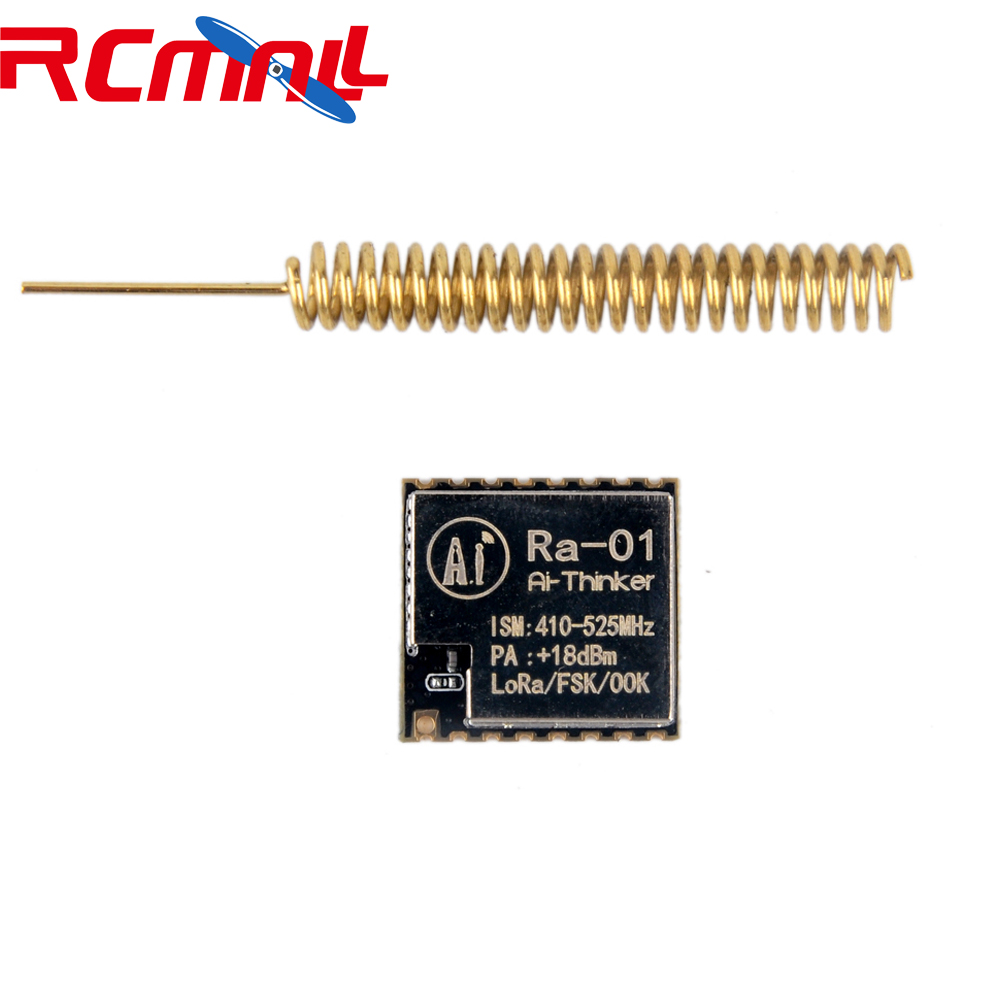 LoRa-01 SX1278 LoRa Module 433M Spread Spectrum Wireless Transmission Ra01 V1.0 With Antenna For Smart Home Security  FZ2801