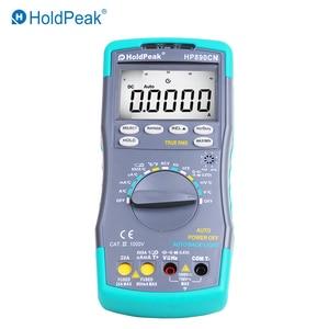 Image 3 - HoldPeak HP890CN Stable LCD Digital Multimeter DC AC Voltage Current HP 890CN Temperature Meaurement Auto Range