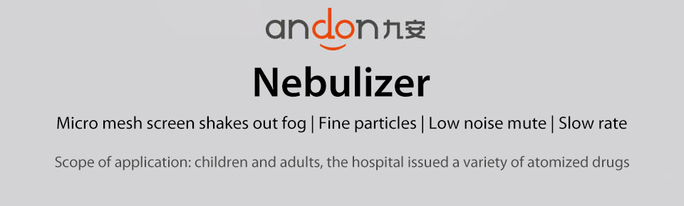 Xiaomi Andon Nebulizer Mini Portable Silent Atomizer USB Battery Handheld 0.2mlmin Rate Asthma Respirator Humidifier (1)