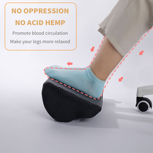 Ergonomic-Foot-Pads Massage-Table Footstool Computer Foot-Pillows Work-Chair Under-The-Home