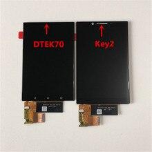 """4.5 """"الأصلي M & Sen لبلاك بيري KEY2 BBF100 1/2/4/6 شاشة LCD عرض + محول رقمي يعمل باللمس لبلاك بيري Keyone DTEK70"""