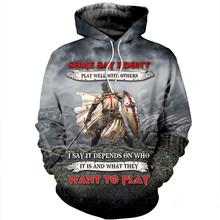 Tessffel Knights Templar Art Tracksuit 3D full Printed Hoodie/Sweatshirt/Jacket/shirts Men Women HIP HOP casual Harajuku style-3