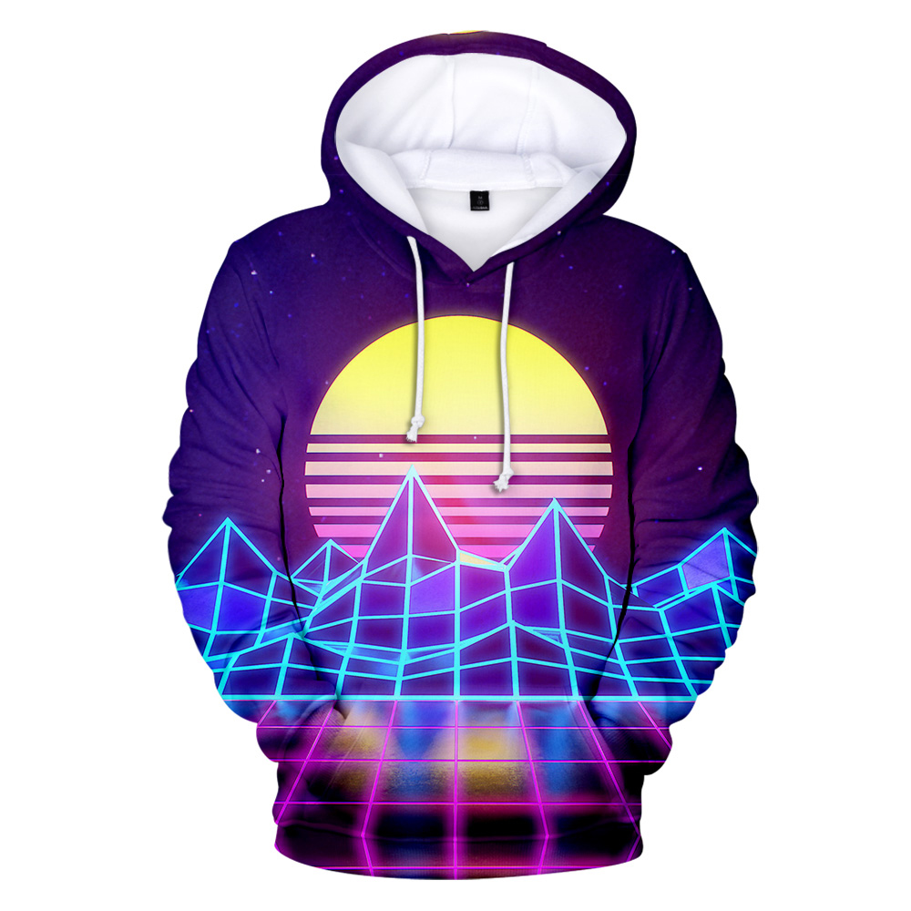 New Listing Sweatshirt Vaporwave Style Hoodies Men Women 3D Print Hoodies Aikooki Autumn Fashion Popular Hip Hop Cool Hoodie Top