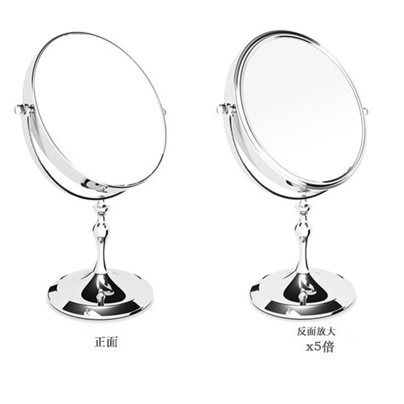 8 polegada desktop espelho de maquiagem 2-face