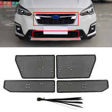 For Subaru XV 2019 2020 Accessories Front Grille Insect Net Screening Insert Mesh Decoration Covers Car Styling