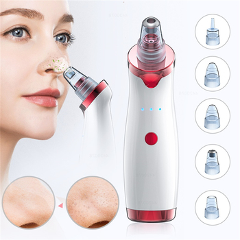 Blackhead Vacuum Extractor Tool Electric Acne Remover Point Noir Black Spots Pore Cleaner Skin Care Facial Pore Cleaner Machine