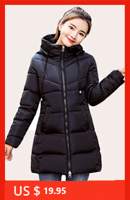 H6c5c8b85071d489eaf2087065e0c905bL 2019 women winter hooded warm coat slim plus size candy color cotton padded basic jacket female medium-long jaqueta feminina