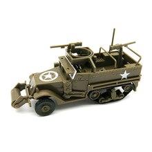 حاملة موظفين مدرعة شبه مجنزرة 4D M3A1 ، الحرب العالمية الثانية ، نموذج أمريكي مجاني من المطاط ، لعبة عربة عسكرية ، 1/72