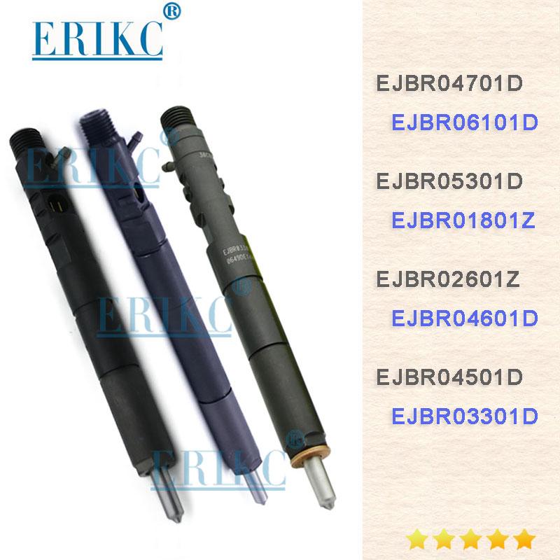 ERIKC Fuel Common Rail Injector EJBR04701D EJBR03301D EJBR05301D EJBR01801D EJBR02801Z EJBR04501D EJBR02601Z For Delphi|Fuel Injector| |  - title=