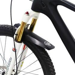 2 pçs ajustável mtb mudguards dianteiro e traseiro compatível fácil de instalar 26 /27.5/29 polegadas todas as bicicletas de freio a disco